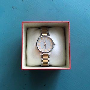 Kate Spade ♠️ Gold & Silver Watch 1YRU0738